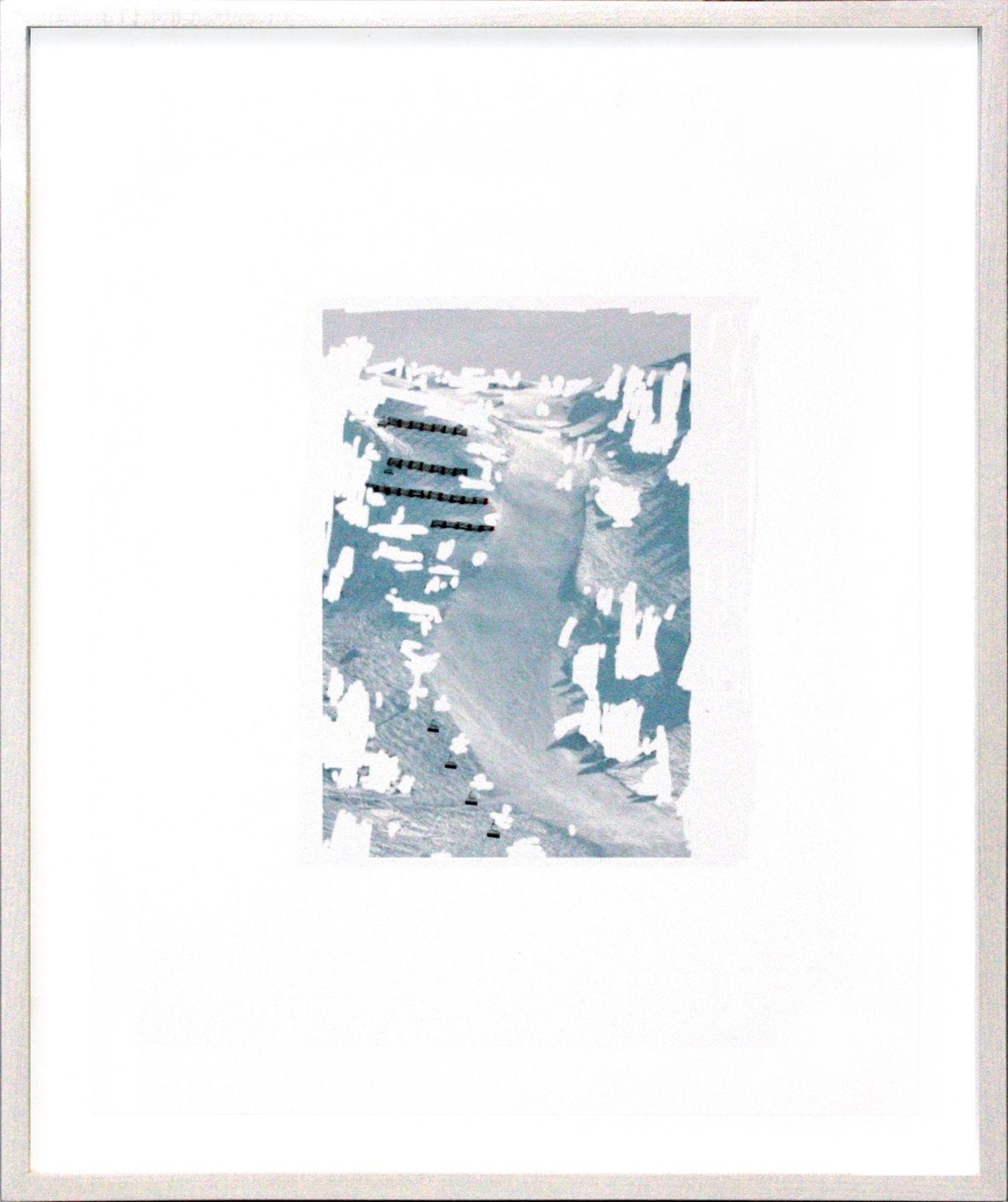 Pen, Weiß auf Schnee, 2013