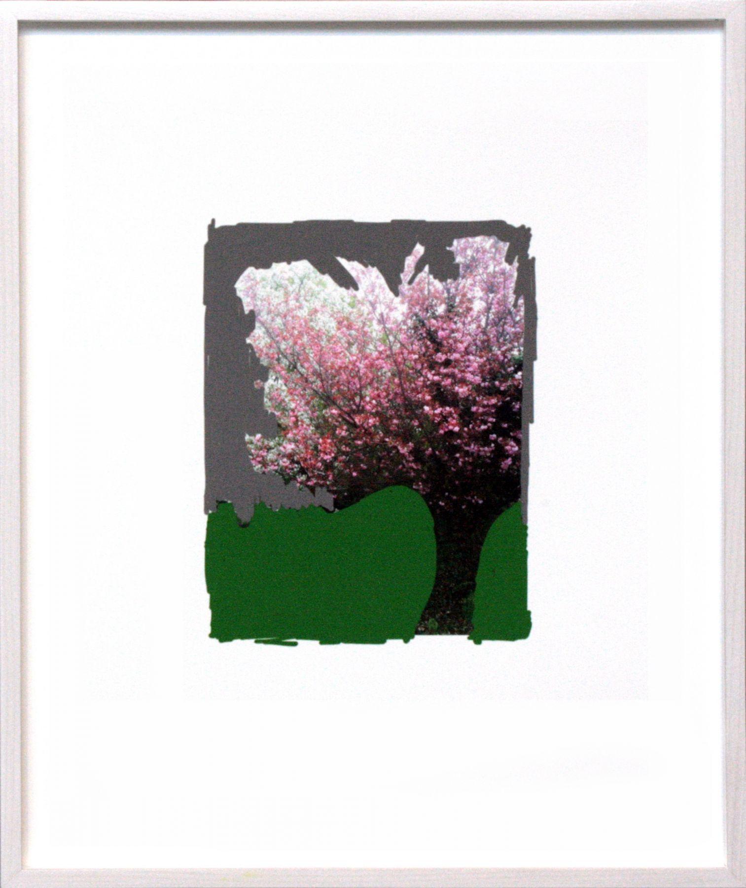 Roter Baum auf Grün, 2013