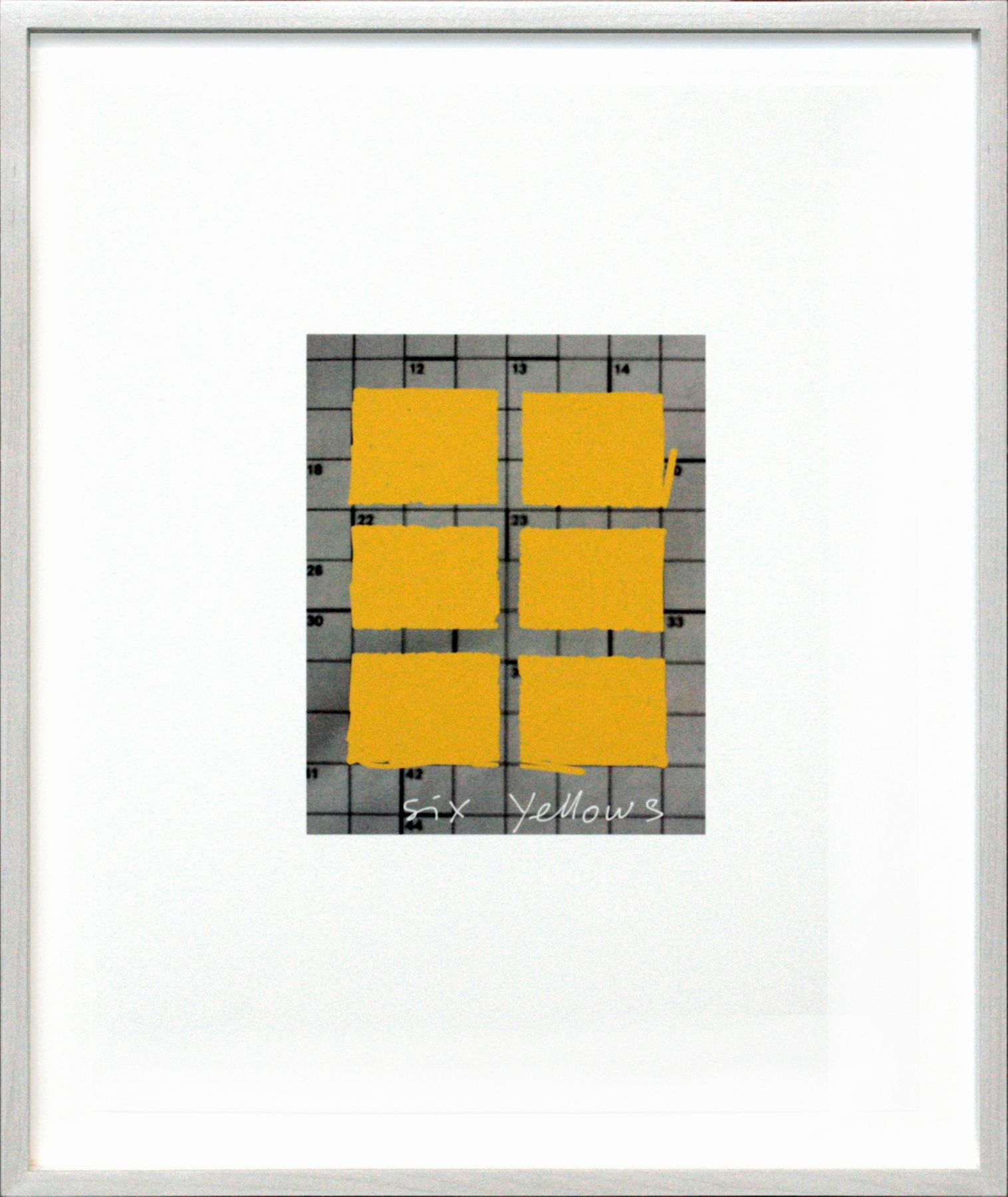 Pen, Six Yellows, 2013