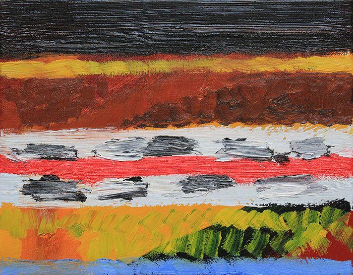 The Colour of Saying, Gina Rorai, 2014