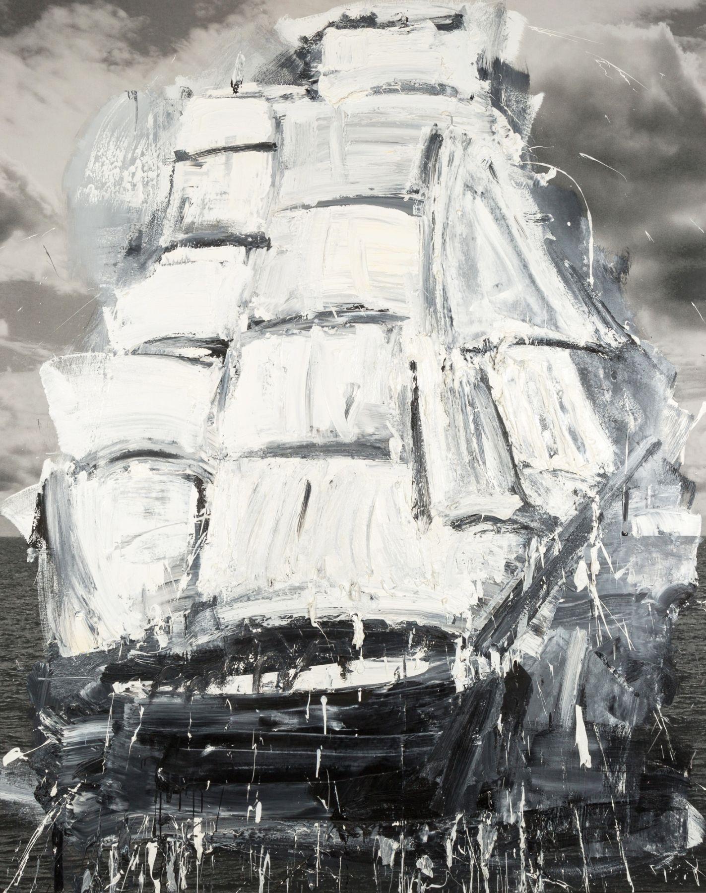 Marcus Harvey ship Locks Gallery