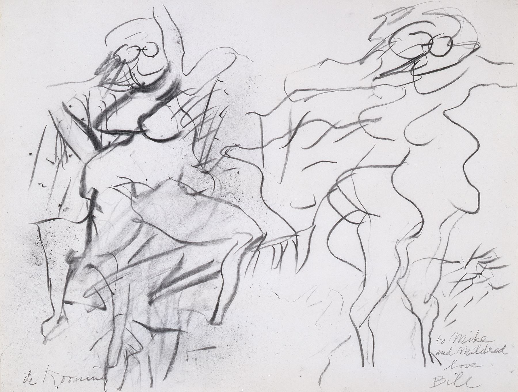 Bodies of Desire Locks Gallery Willem de Kooning