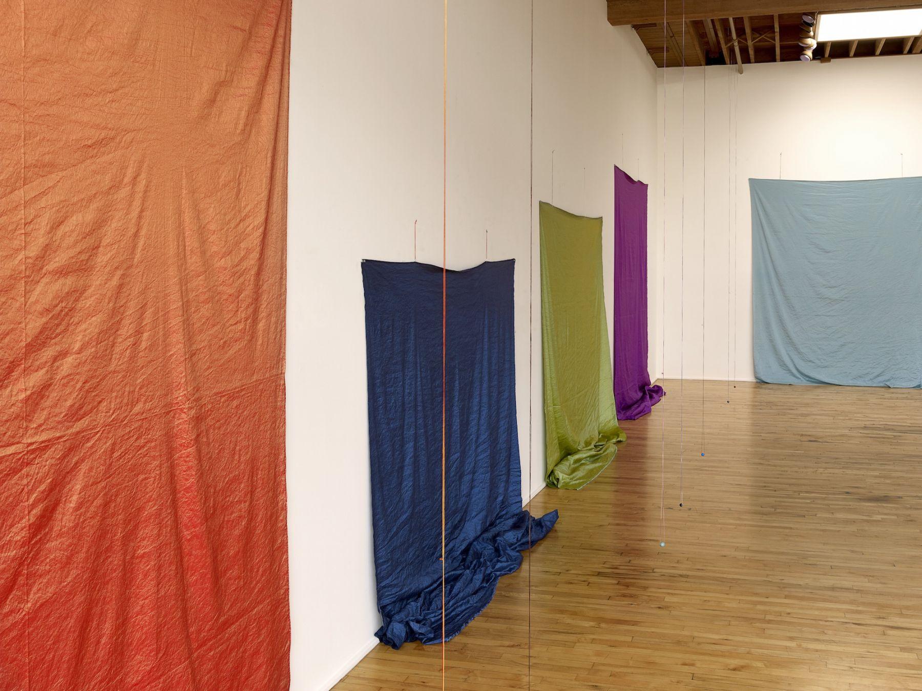 Polly Apfelbaum installation Locks Gallery