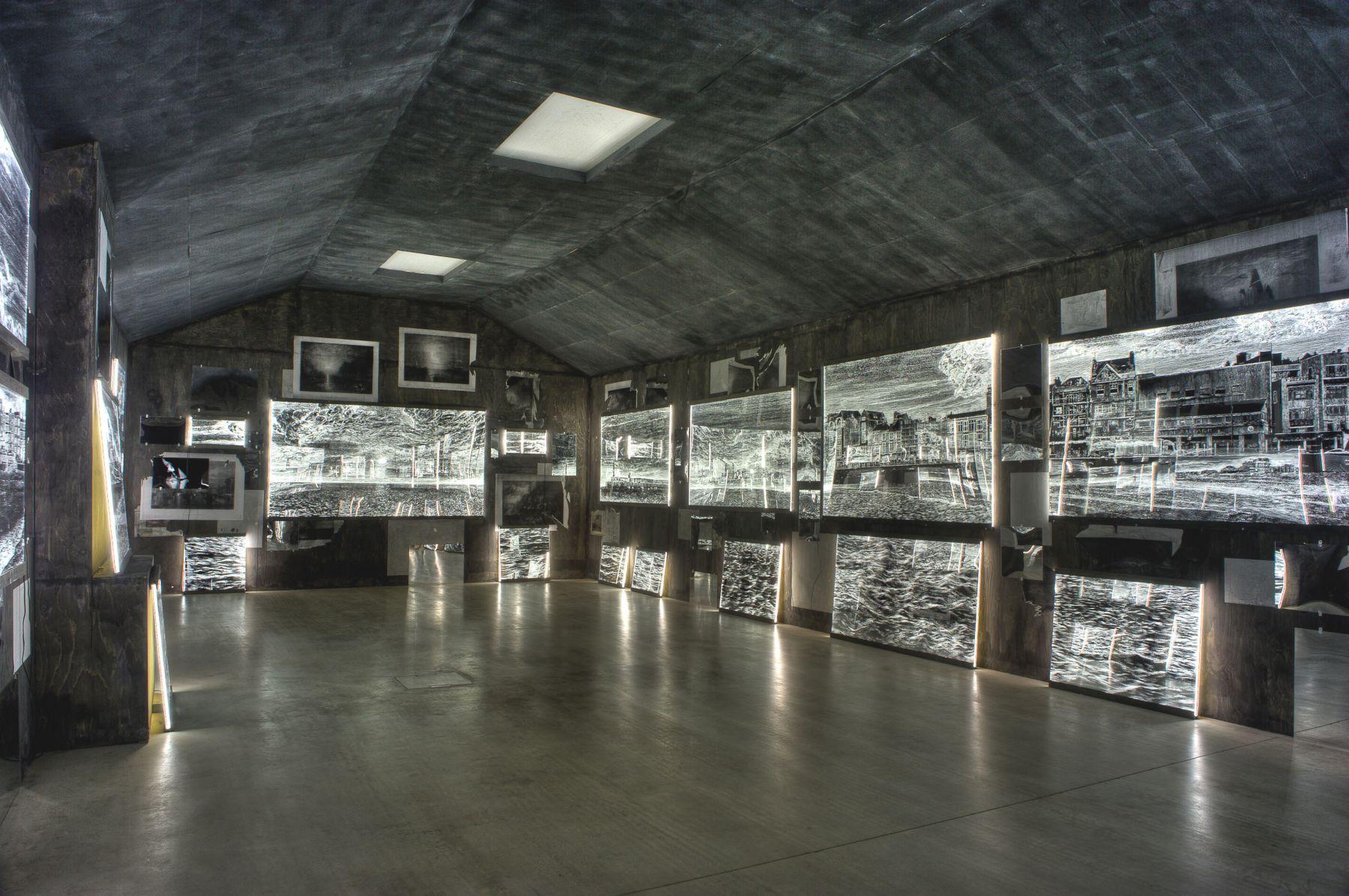 Ellen Harvey Arcade Arcadia Locks Gallery Turner