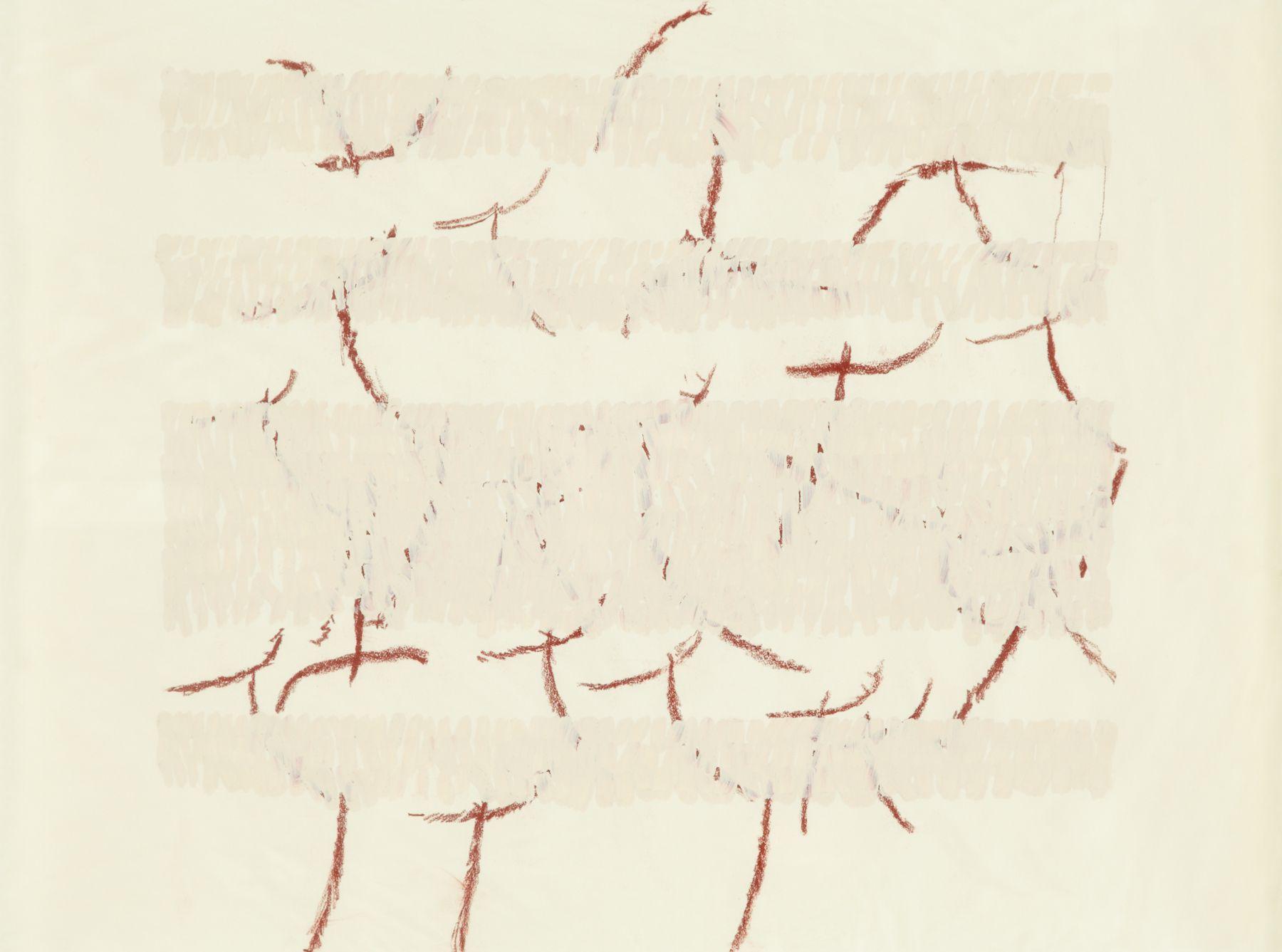 Warren Rohrer Drawings, Untitled 3 1990-94, Locks Gallery