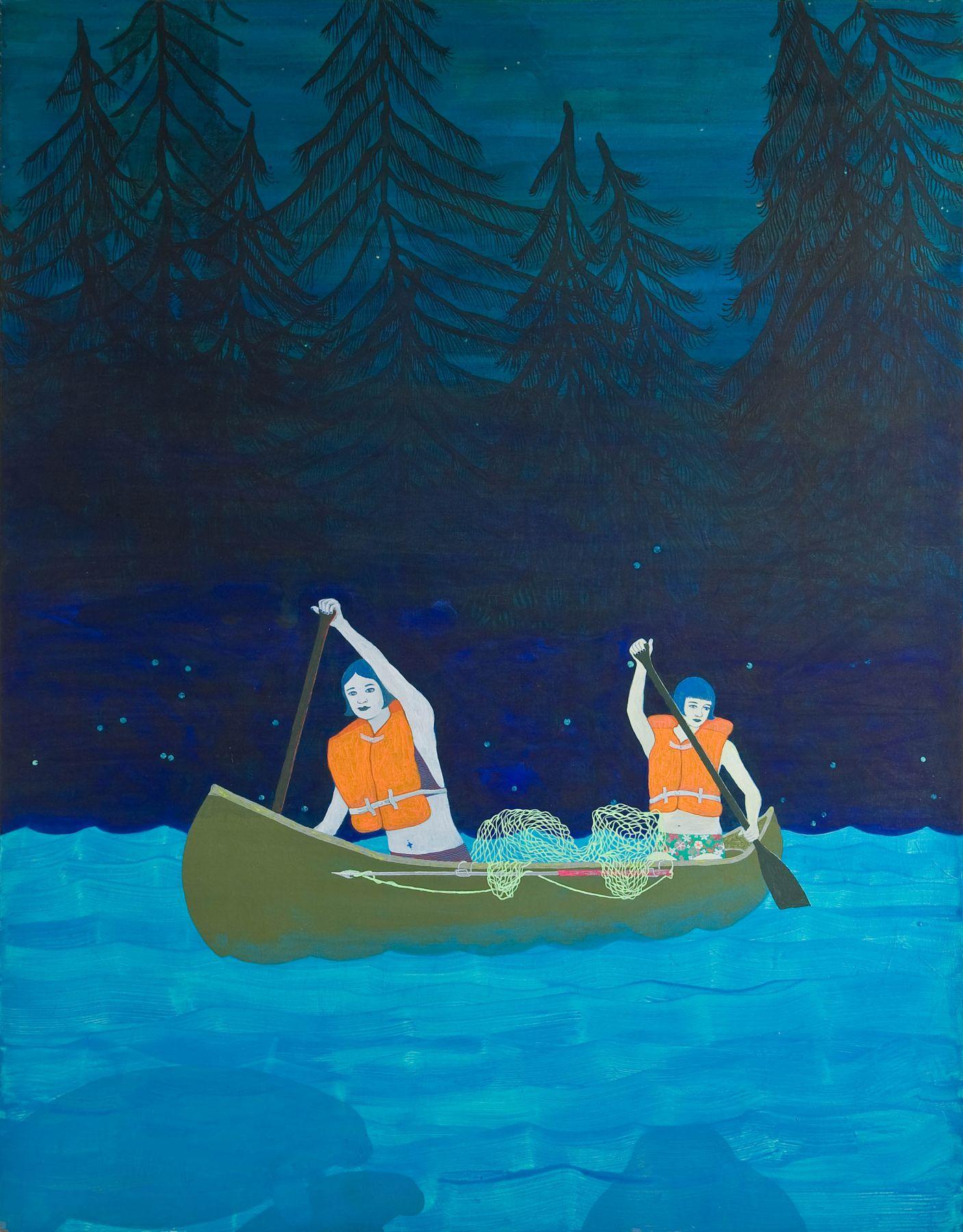 water is best locks gallery joy feasley canoers