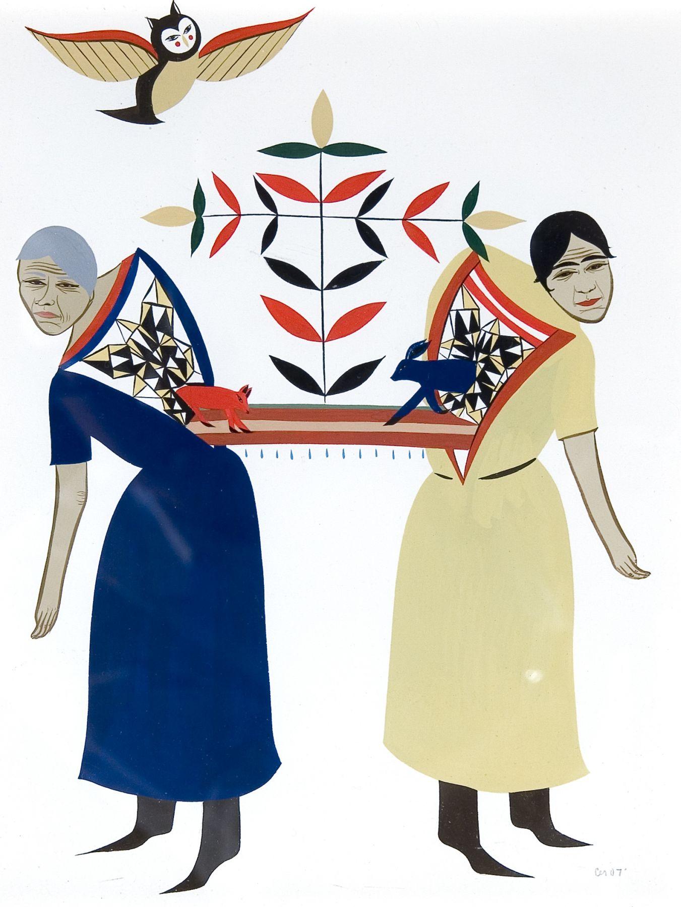 Joy Feasley & Clare Rojas: Pow-Wows or the Long Lost Friend Locks Gallery