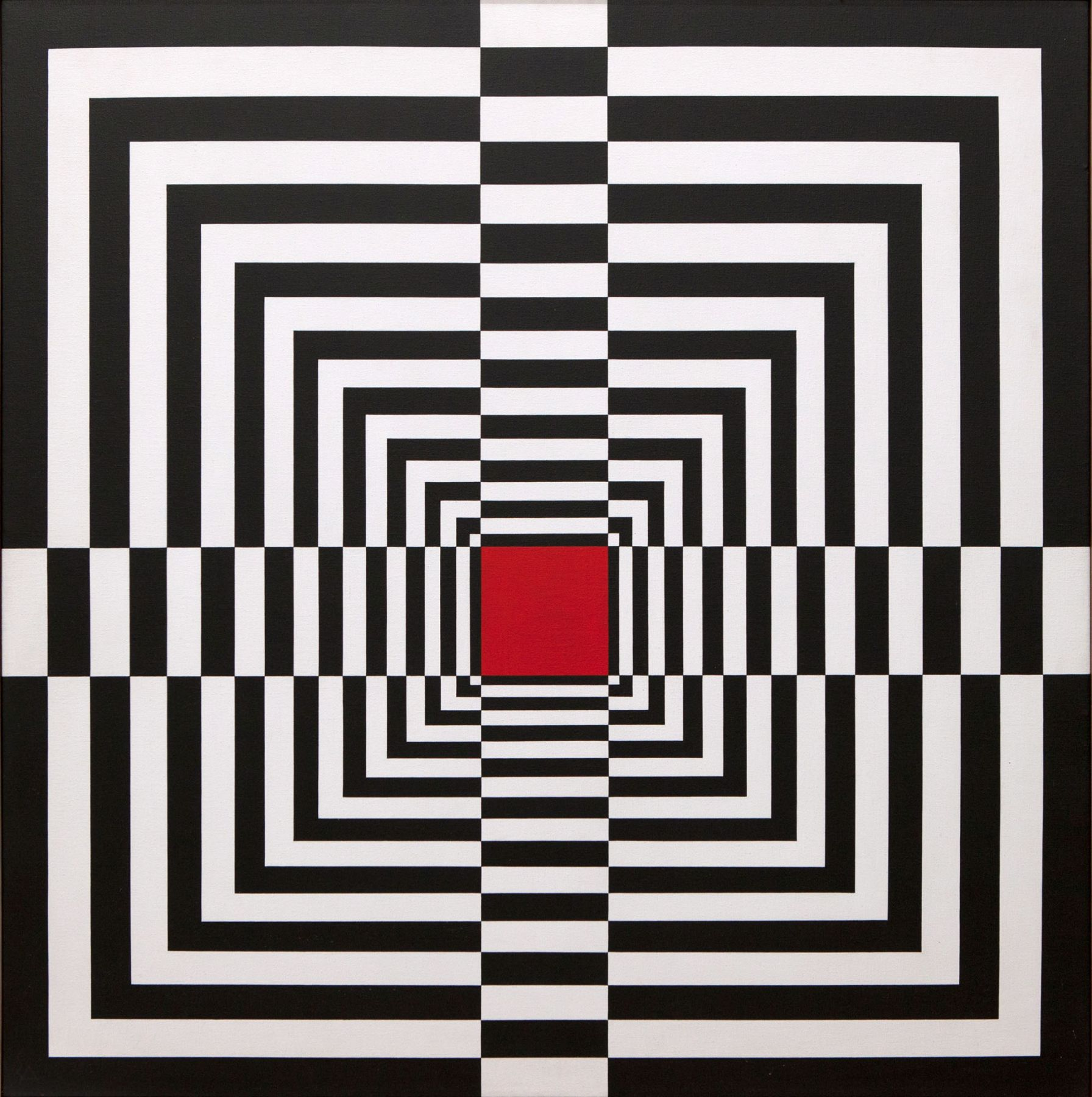Edna Andrade Locks Gallery op art