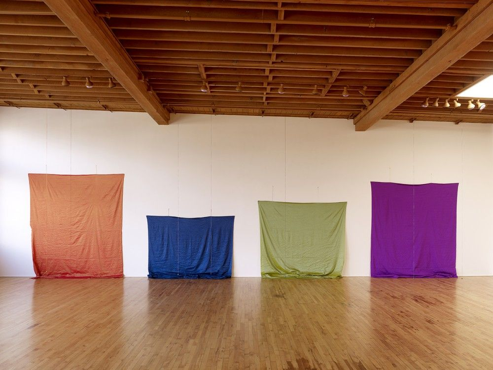 Polly Apfelbaum Locks Gallery Lumber Room