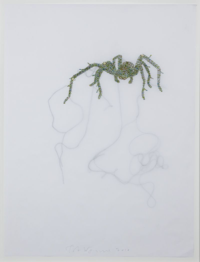 Rob Wynne Locks Gallery New Light Green Spider