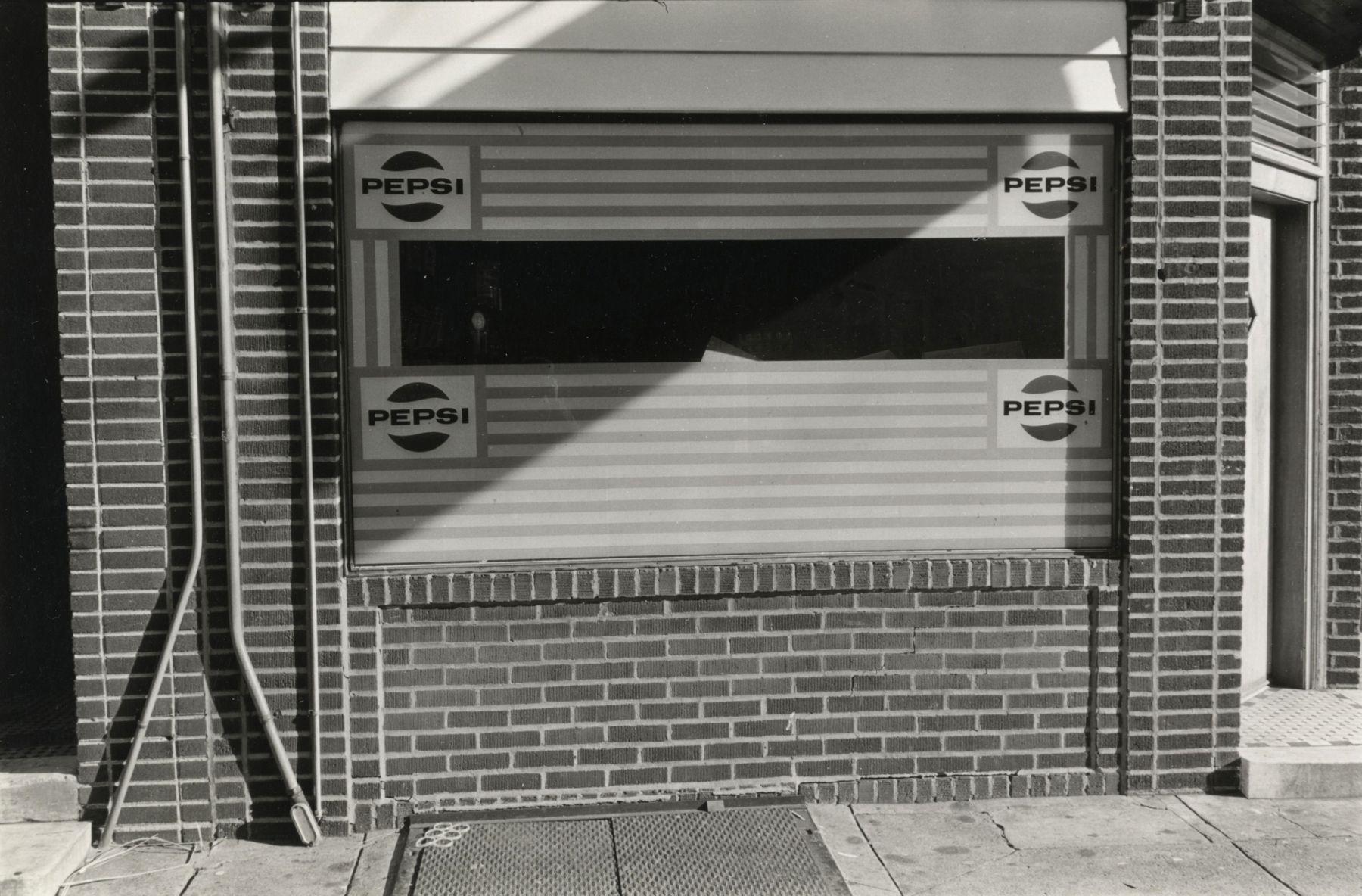 Will Brown Pepsi Store 1973