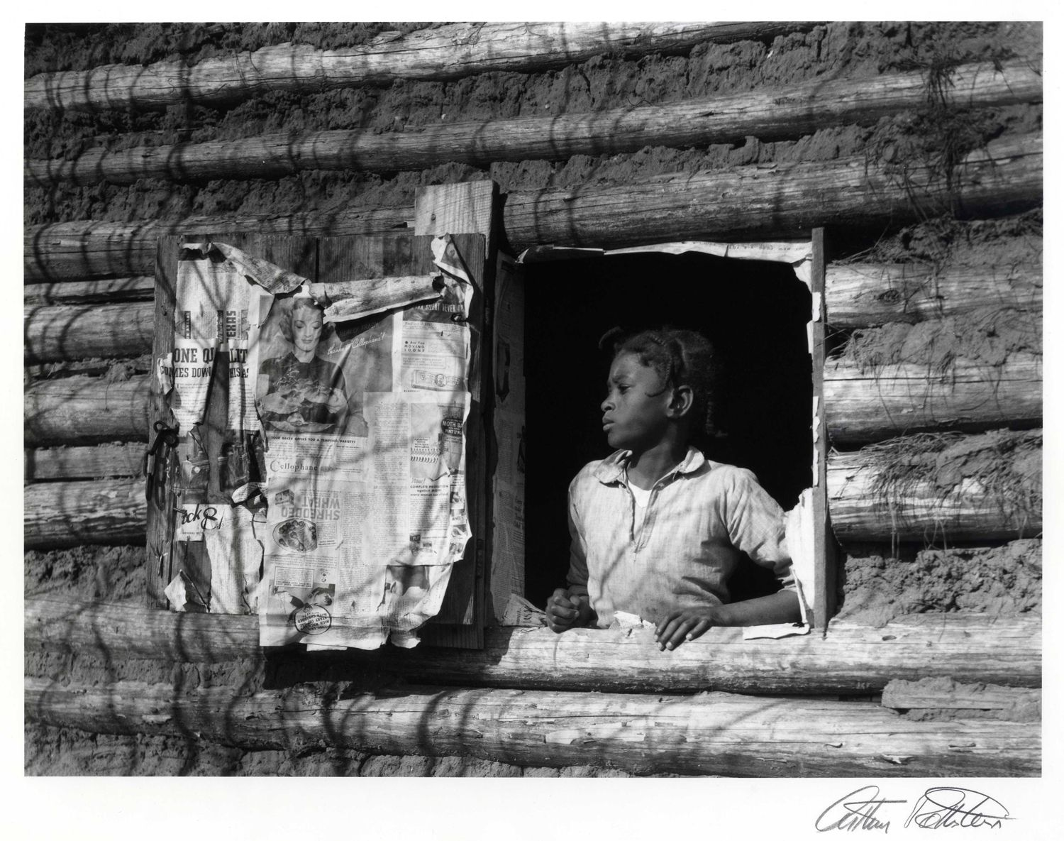 Arthur Rothstein Girl at Gee's Bend, Alabama, 1937