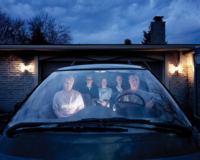 Julie Mack Family Portrait, Michigan, 2007