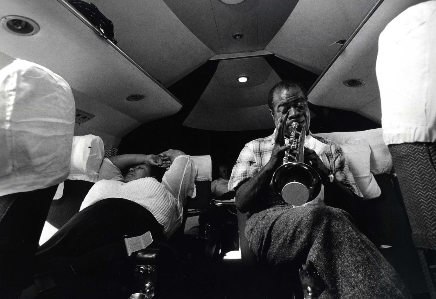 Larry Burows Louis Armstrong