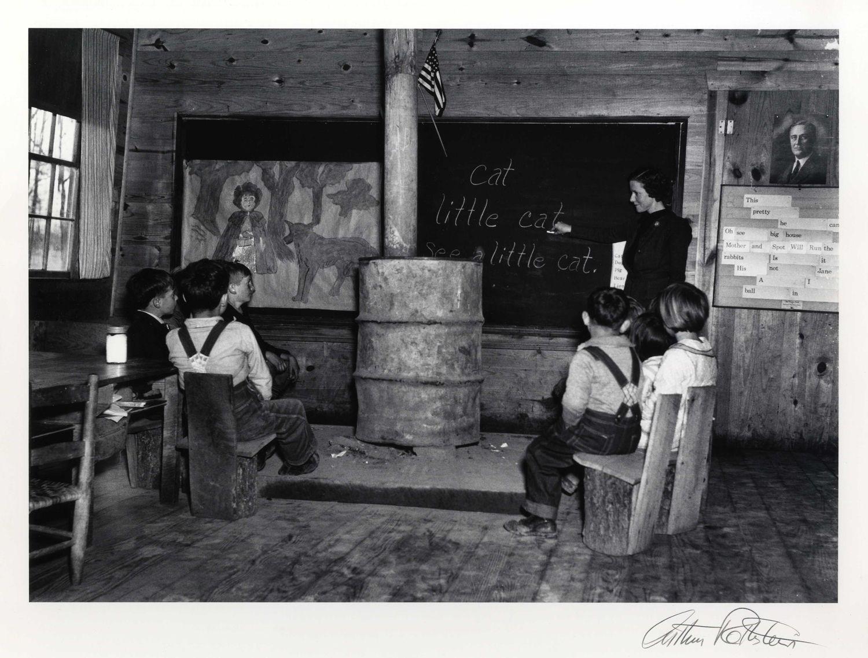 Arthur Rothstein Rural School Alabama, 1938