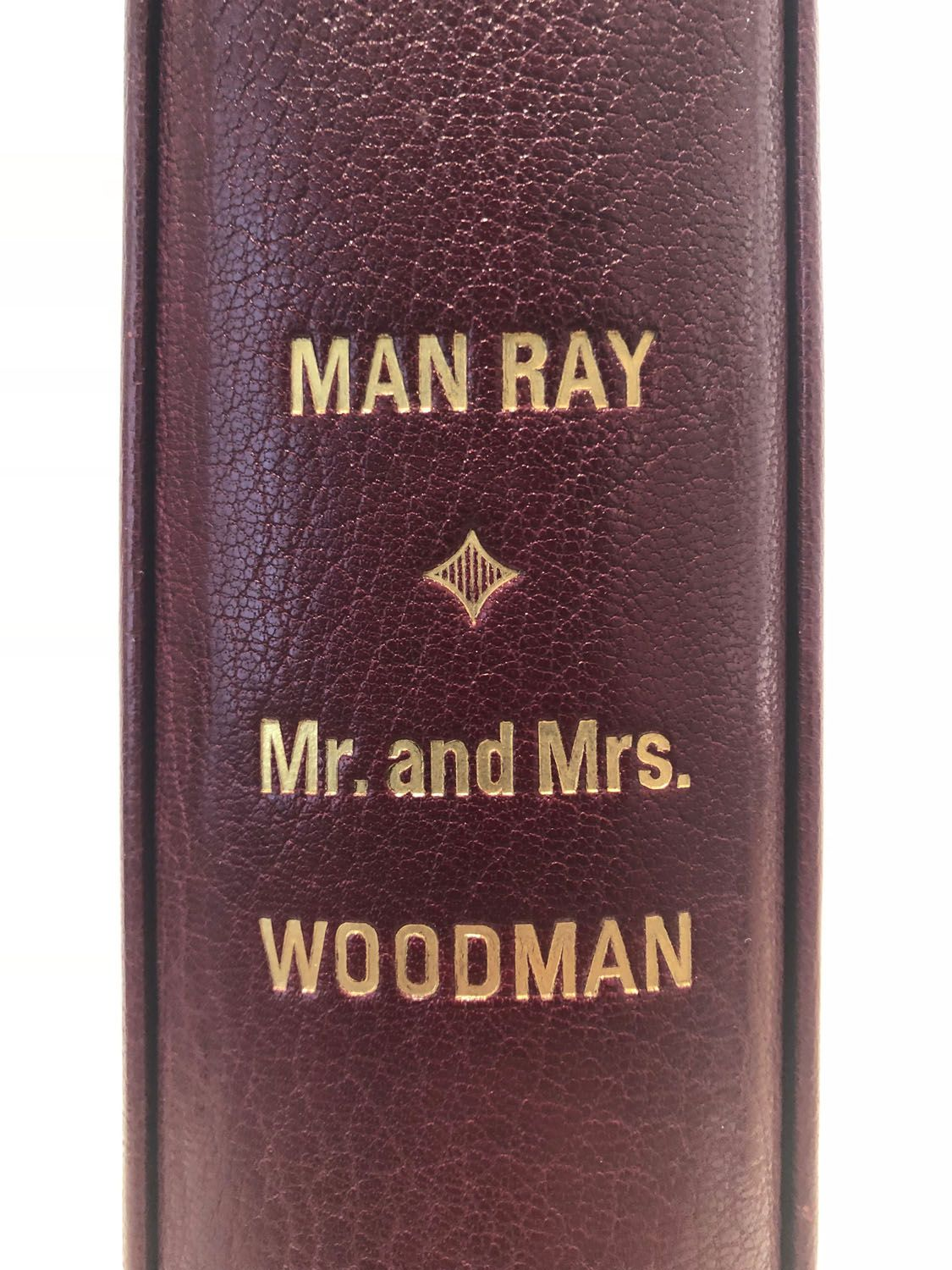 Man Ray, Mr. and Mrs. Woodman