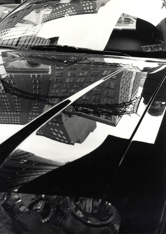 Ray Metzker Philadelphia 2009  silver gelatin print