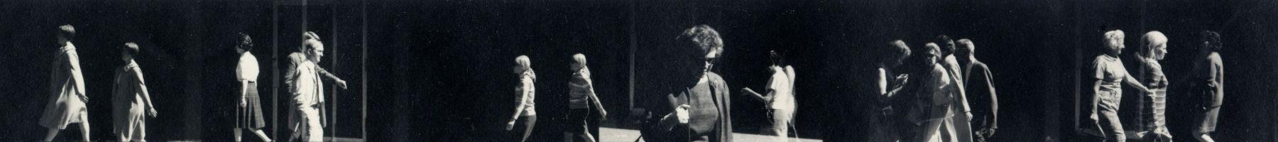 Ray Metzker Striptease