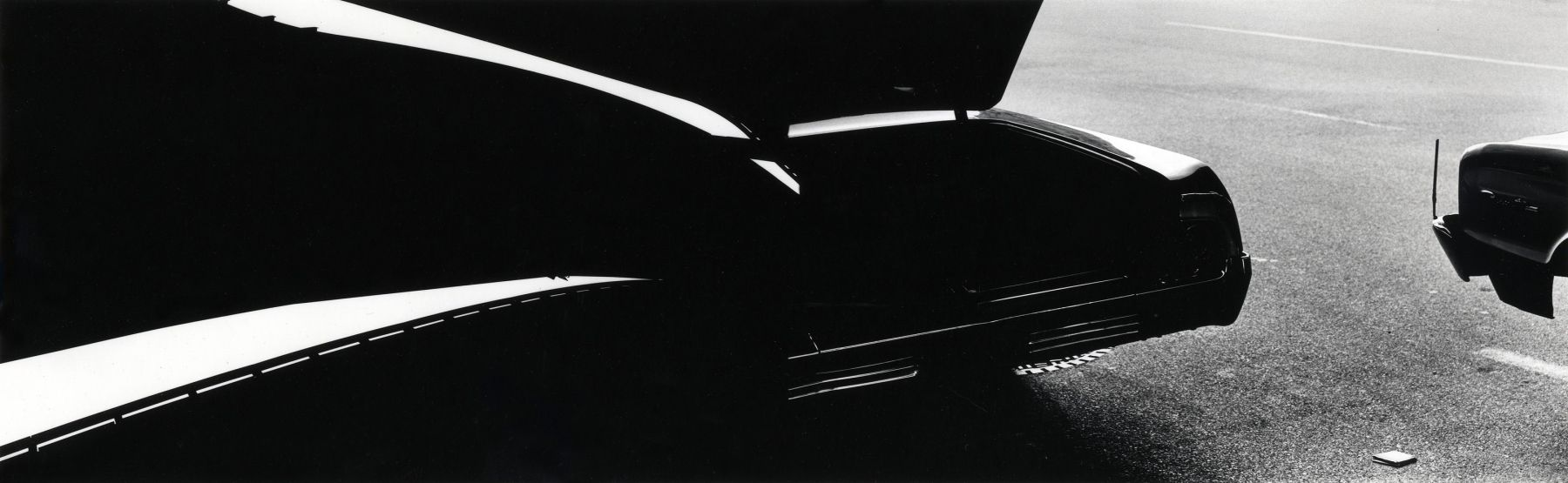 Ray Metzker Double Frame New York City 1966
