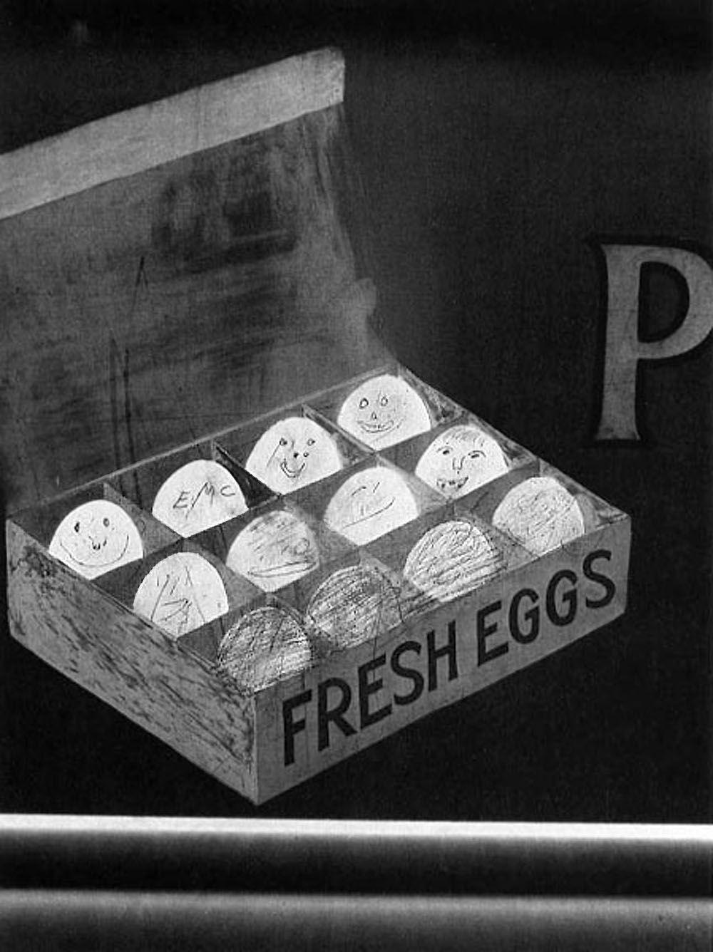 Helen Levitt New York (FRESH EGGS), c. 1939
