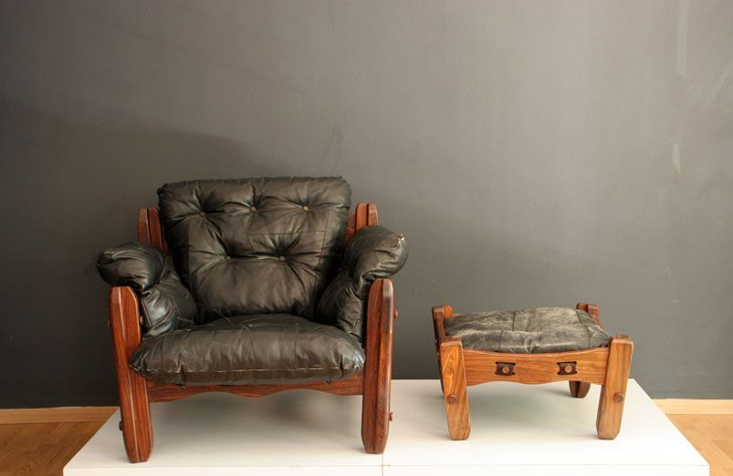 Descanso Lounge Chair with Ottoman