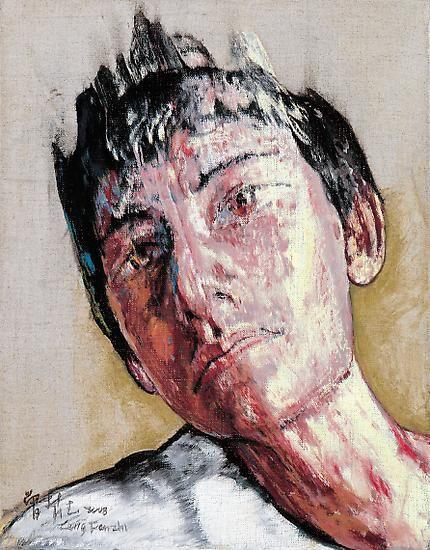 Zeng Fanzhi, Portrait 08-12-3