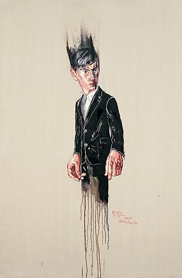 Zeng Fanzhi, Portrait 08-1-5