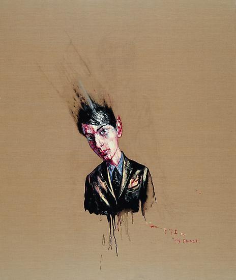 Zeng Fanzhi, Portrait 07-8-4
