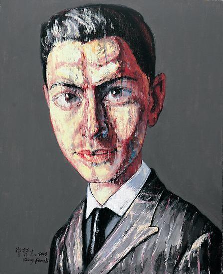 Zeng Fanzhi, Portrait 08-12-7