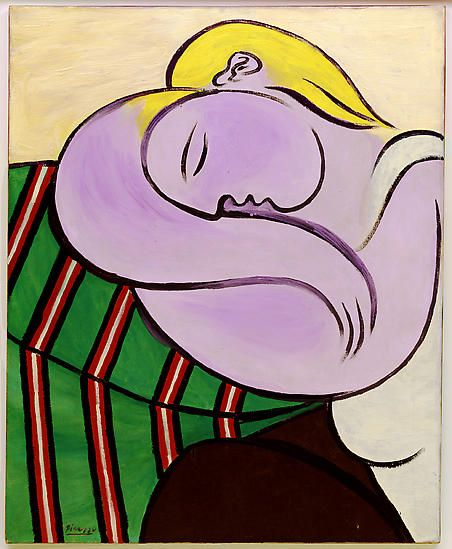 "Pablo Picasso, ""Woman with Yellow Hair,"" December 27, 1931"
