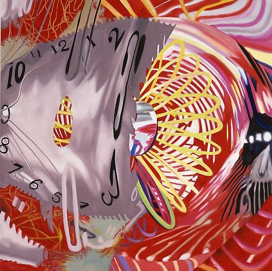"James Rosenquist, ""Time Zone,"" 2007"
