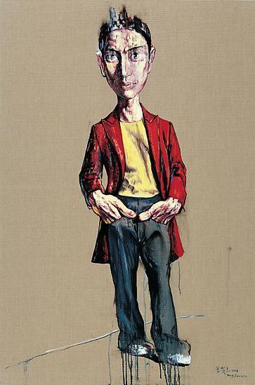 Zeng Fanzhi, Portrait 08-12-6