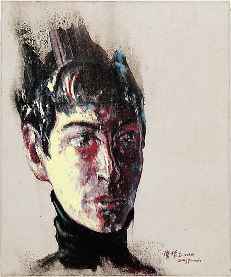 Zeng Fanzhi, Portrait 08-12-4