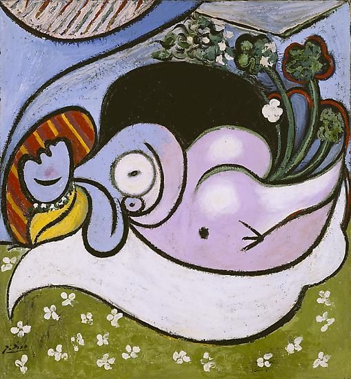 "Pablo Picasso, ""The Dreamer,"" July 1932"