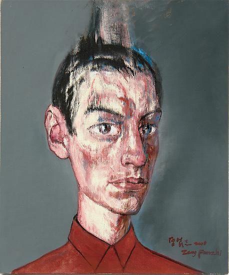 Zeng Fanzhi, Portrait 08-7-3