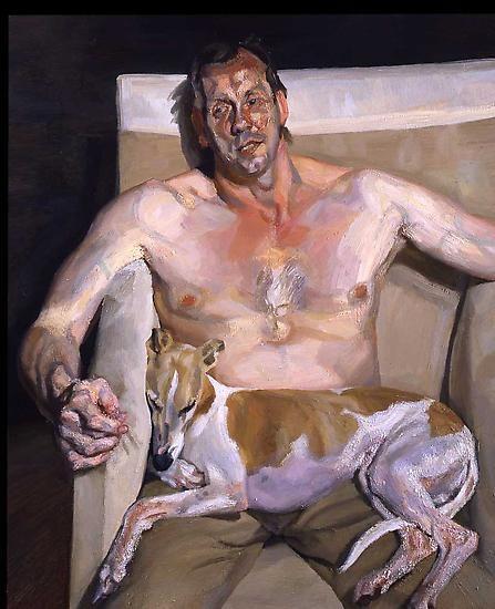 "Lucian Freud, ""Eli and David,"" 2005-6"
