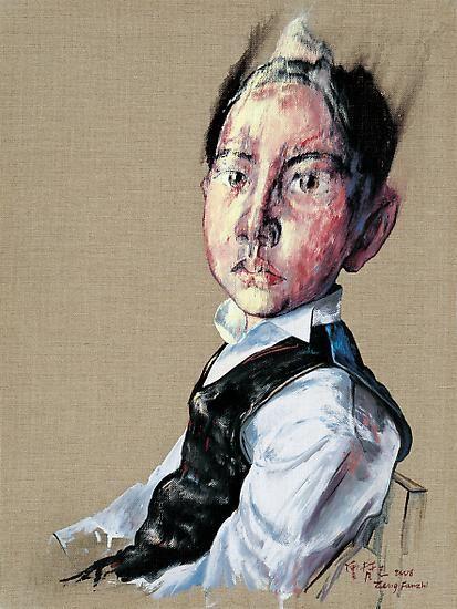 Zeng Fanzhi, Portrait 08-12-2