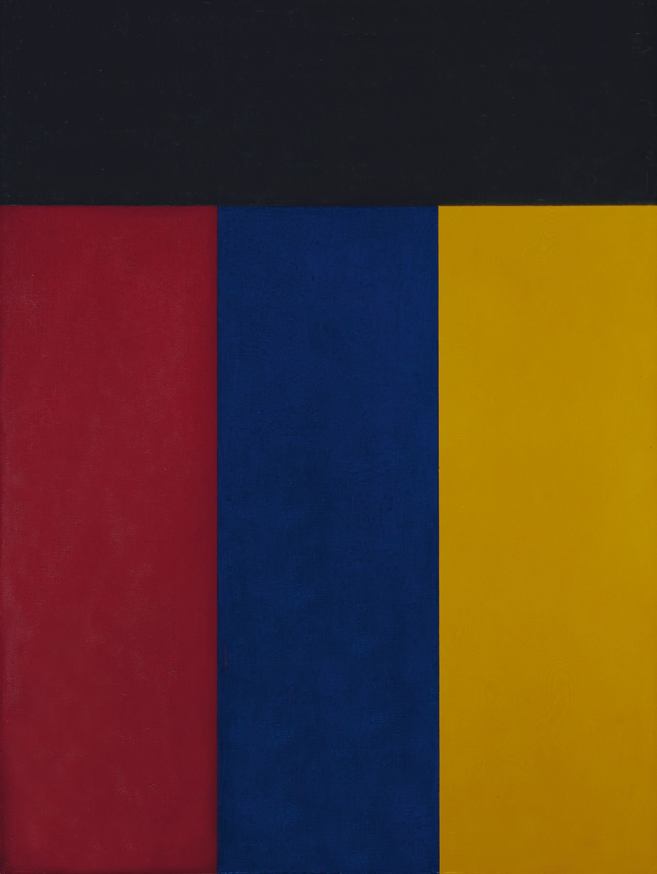 Brice Marden, Elements V, 1984, oil on canvas, 48 x 36 inches