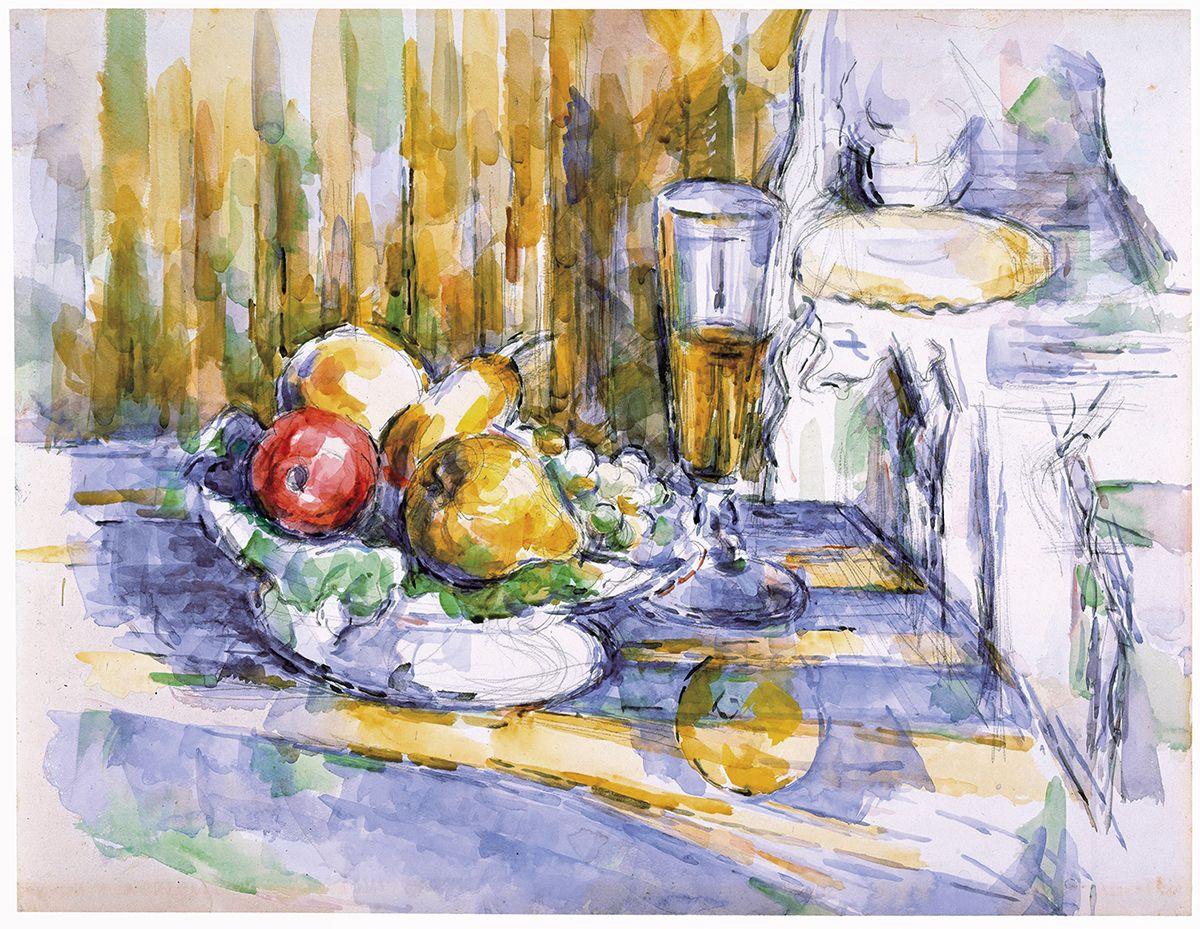 Paul Cézanne, Le Dessert, 1900-06