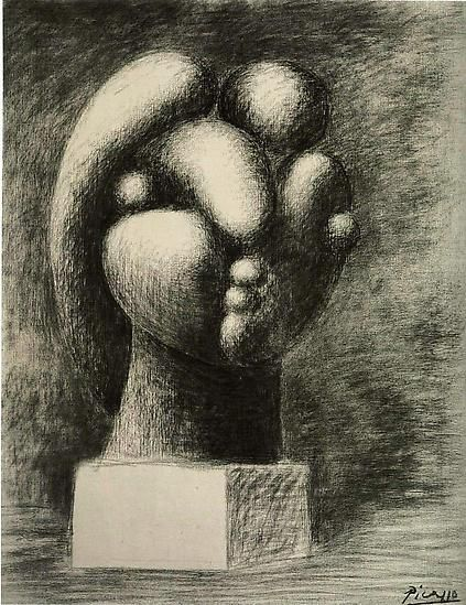 "Pablo Picasso, ""Sculpture of a Head: Marie-Thérèse,"" 1932"