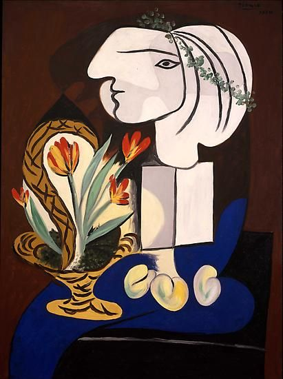 "Pablo Picasso, ""Still Life with Tulips,"" March 2, 1932"