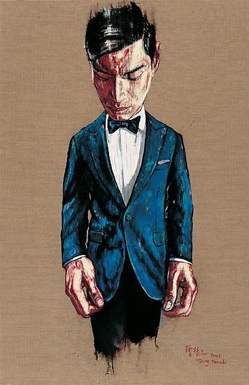 Zeng Fanzhi, Portrait 08-7-2