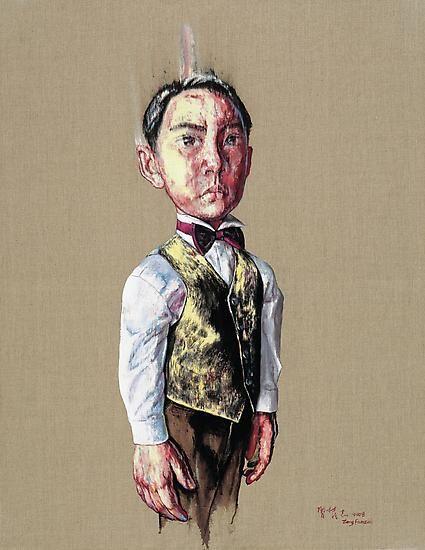 Zeng Fanzhi, Portrait 08-12-1