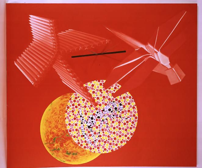 James Rosenquist, Time Points, 1991