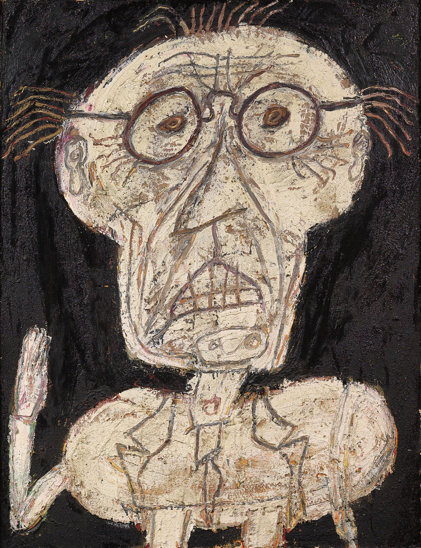 Jean Dubuffet, Dhôtel, July-August 1947