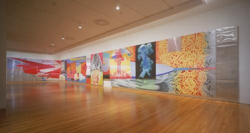 "James Rosenquist's ""F-111"" at the Museum of Modern Art, New York."