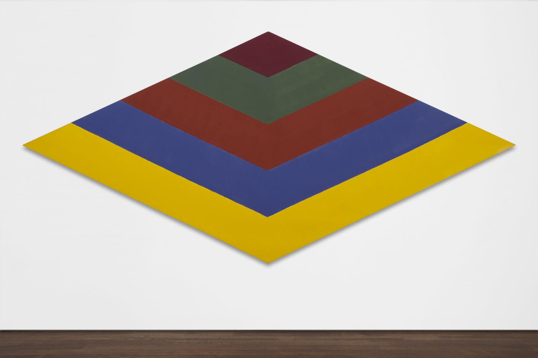 Kenneth Noland,Mach II,1964, acrylic resin on canvas, 98 x 208 inches