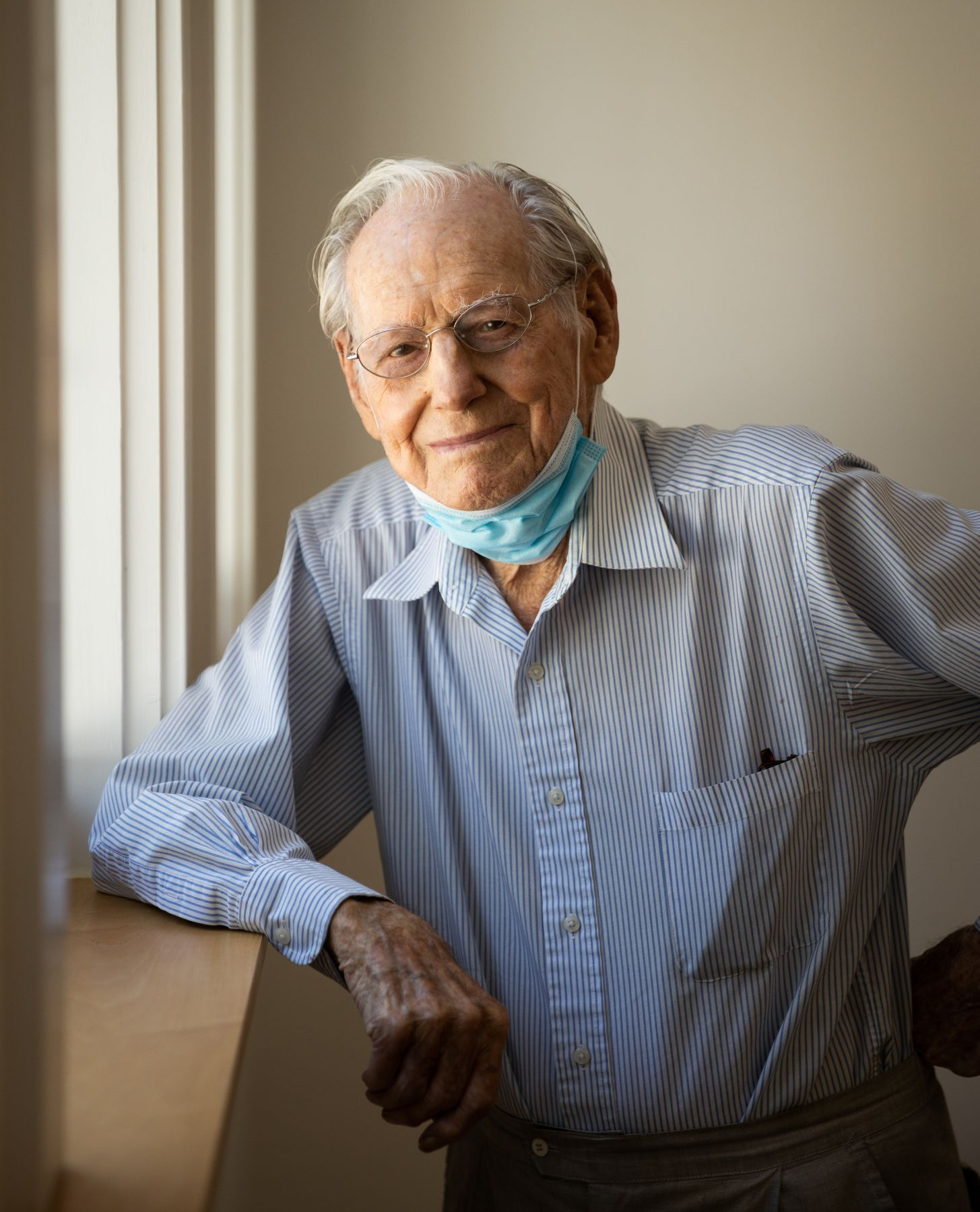 Photo of Wayne Thiebaud by Max Whittaker, 2020
