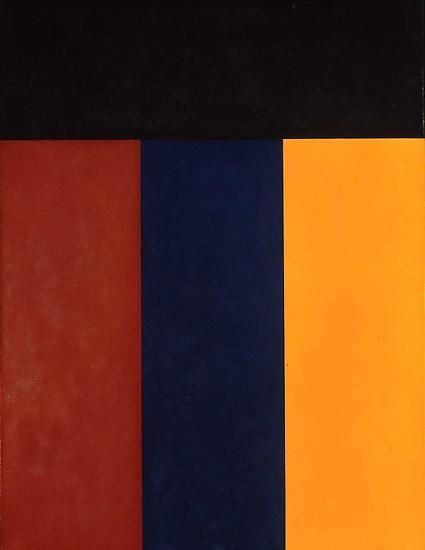 """Brice Marden, """"Elements V,"""" 1984"""