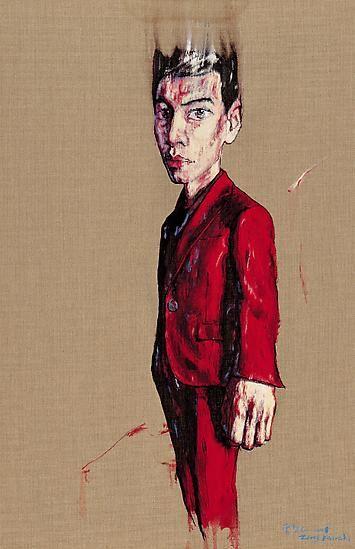 Zeng Fanzhi, Portrait 08-4-1